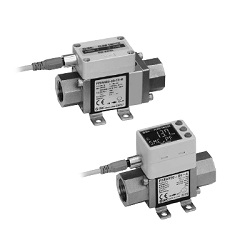 3-Color Display Digital Flow Switch For Water PF3W Series