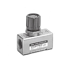 Speed Controller With Residual Pressure Release Valve, Standard Type, AS□□□□E Series