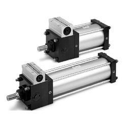 CLS Series Cylinder With Lock, Double Acting, Single Rod