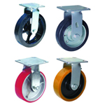 Heavy Load Plate Equipped Fixed Casters [DP13C1]