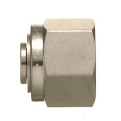 SUS316 Stainless Steel Double Ferrule Fitting Plug