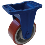 Ductile Casters (for Heavy Loads) (Rigid Car) LV Type