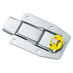 Stainless Steel Push Latch with Lock C-1534