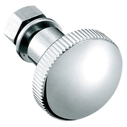 Stainless Steel, Knurled Knob, Fastener A-1038