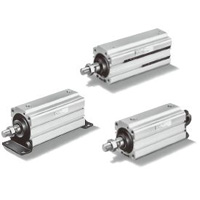 Thin pneumatic cylinder Long stroke supporting type 10S-5 series