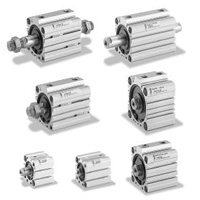 Thin pneumatic air cylinder 10S-6 series