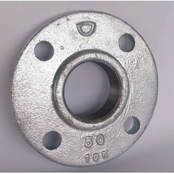 Cast Iron Alloy Flange 5K White