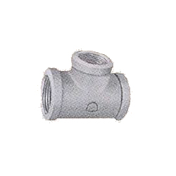 Pipe Fittings - Reducing Tee (with Band) - Unplated