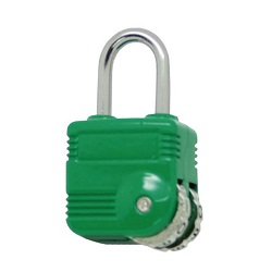 2 Dial Type Lock Green