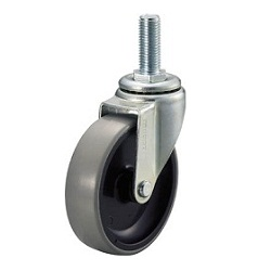 Screw-In Urethane Caster, Freely Rotating