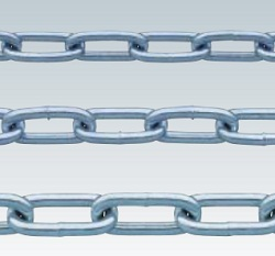 Bright chromate cut chain (weld type)