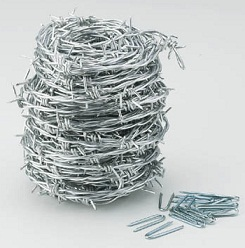 Barbed wire (steel)