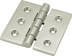 Stainless Steel, Heavy-Load Flat-Type Hinge
