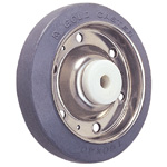 Wheel for SUS-S Series (Stainless Steel) Dedicated Caster Medium Duty Rubber Wheels S-R/S-RB (GOLD CASTER)