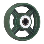 Wheels for Dedicated Caster W Series - Metal Wheels for Medium Load W-FB (GOLD CASTER)