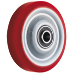 Wheel for Dedicated Caster W Series, Medium Duty Urethane Wheel, W-UB (GOLD CASTER)