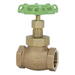 125C Type Lead Free Bronze Screw-in PTFE Disc-Contained Globe Valve