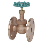150 Type Bronze Flange Type PTFE Disc-Contained Globe Valve