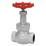 20K Type Ductile Cast-Iron Screw-in Globe Valve <Union Bonnet Type>