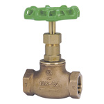J10K - Lead-Free Bronze Screw in Type Globe Valve (JIS B 2011) <<This Product Displays The New JIS Mark.>>