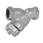20K Type Ductile Cast-Iron Screw Down Strainer (Y Shape)