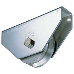 Stainless Steel Heavy Load Door Roller with 440C Bearings V Type