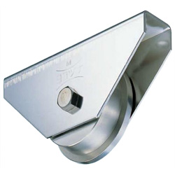 Stainless Steel Heavy Load Door Roller with 440C Bearings Casters Type
