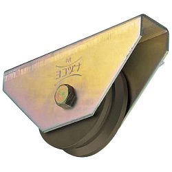 S45C Heavy Door Roller V Type
