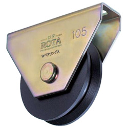 Rotor/Iron Door Roller for Heavy Loads V Type