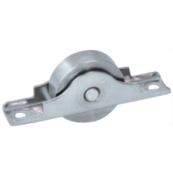 Stainless Steel Door Roller with Bearings Flat