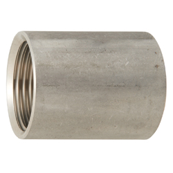 Stainless Steel Screw-in Tube Fitting Pipe Socket with Parallel Thread