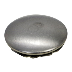 Stainless Steel Knock-In Cap