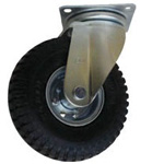 Free Wheel with Tire with No Puncture Airless Tire