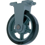 Fixed Rubber Wheels for Heavy Load (HB-k Type) - FCD Ductile Fitting