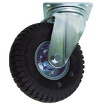 Tire Swivel Axle Pneumatic Tires Included