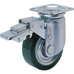 Free Wheels with Heavy Load Polyurethane Rubber Wheel Stopper (RJMB Type)