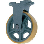 Fixed Axle with Urethane Wheels for Heavy Loads (UHB-k Type) FCD Ductile Formed Fixture