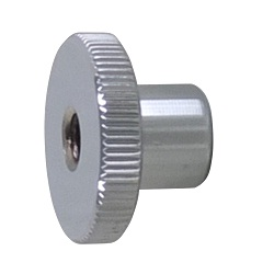 Ferrochrome Knurled Nut Stepped