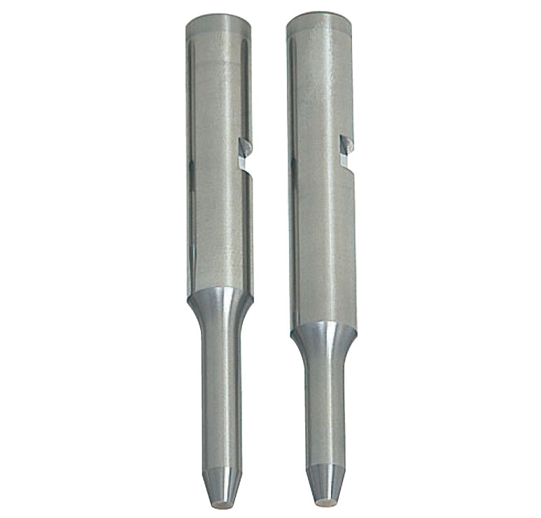 Pilot Punches with Key Grooves  DLC Coating Tapered Tip Type