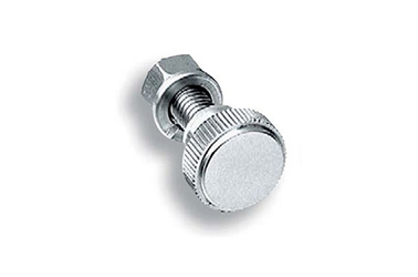 Stainless-Steel Compact Knurled Knob A-1040: related images