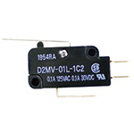 Small Basic Switch, D2MV Series