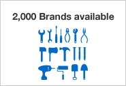 2,000 Brands available